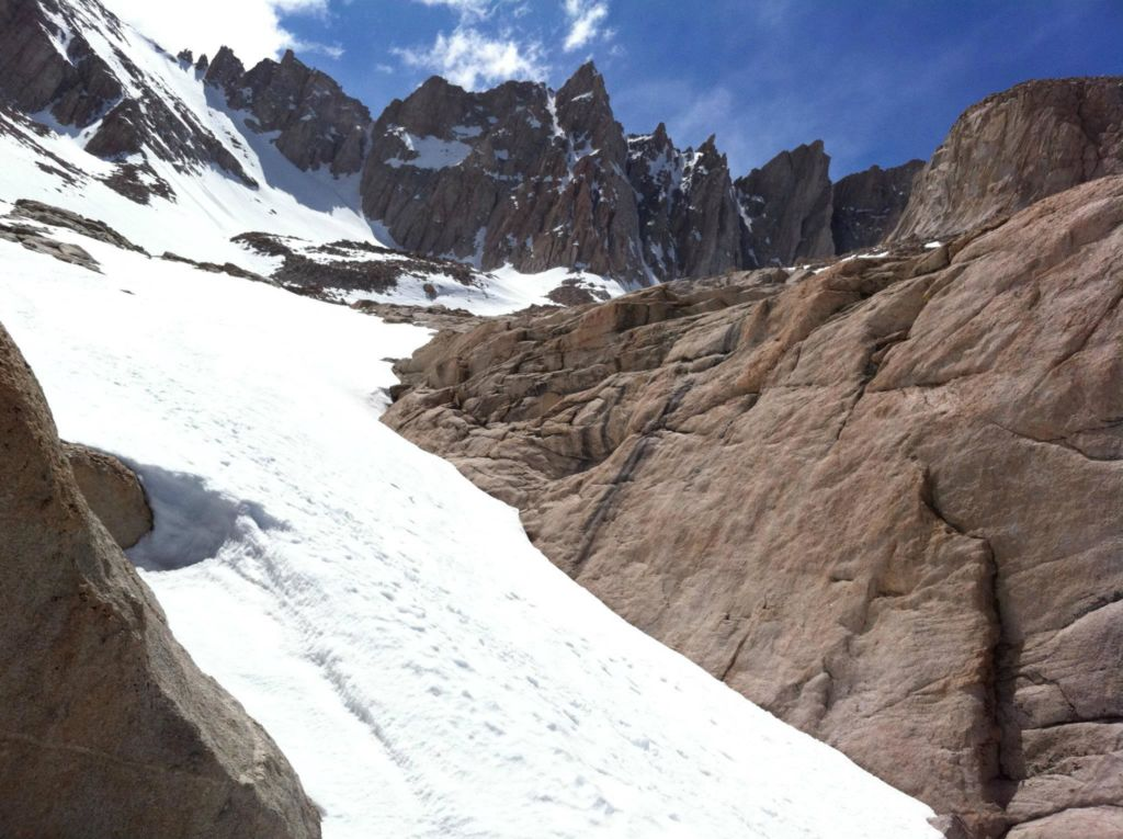 Mount Whitney in May 2011
