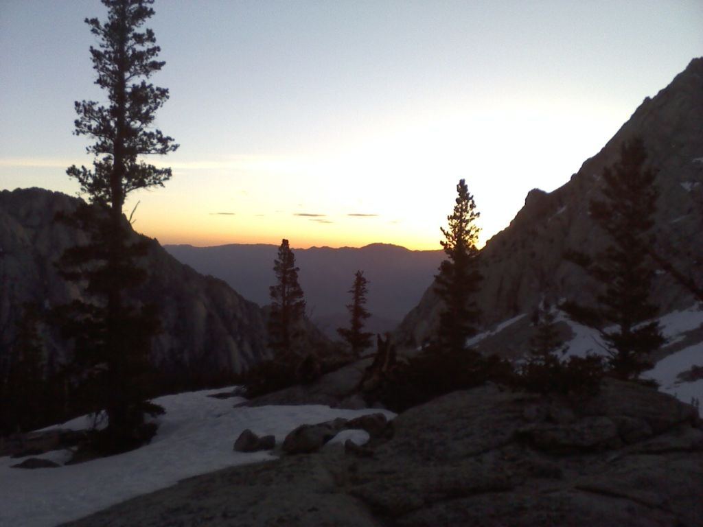 Early Morning Mt. Whitney