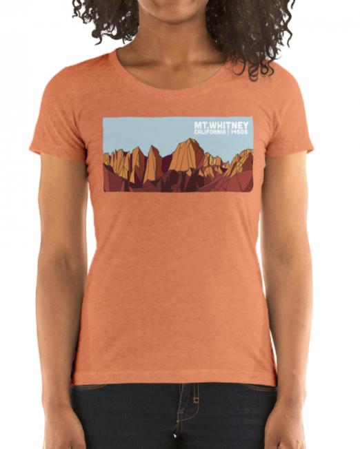 Womens Mt. Whitney Tshirt