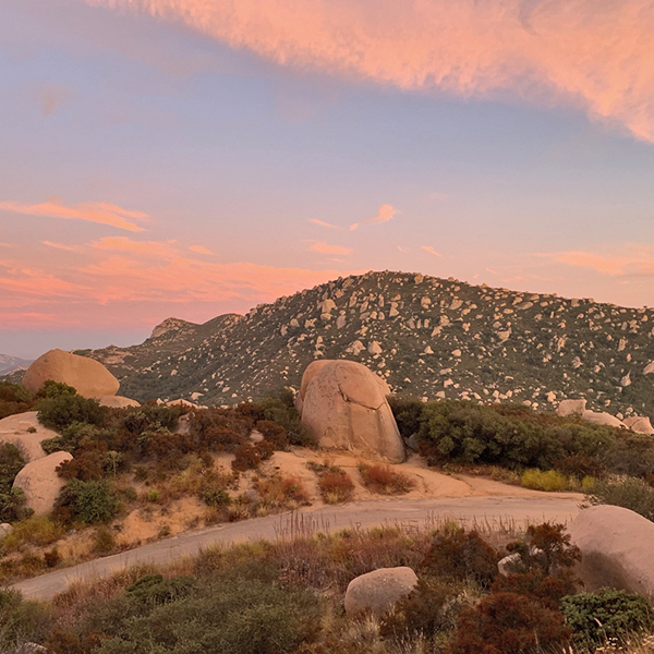 Mount Woodson Full Moon Hike