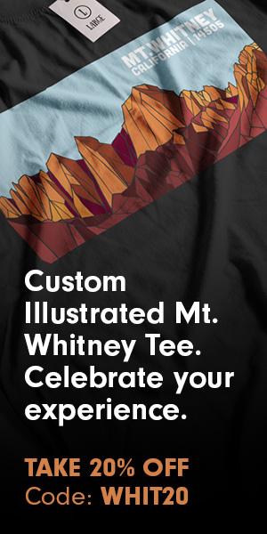 Mt Whitney Souvenir