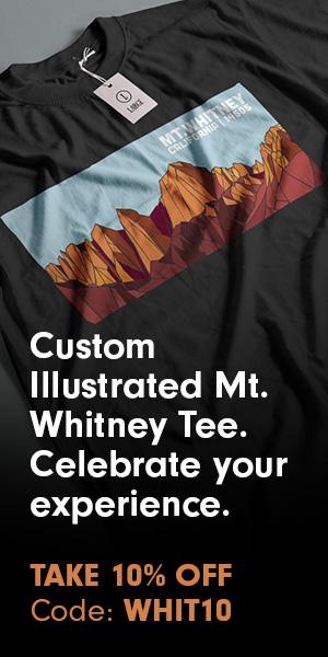 Mt Whitney Commemorative T-Shirt